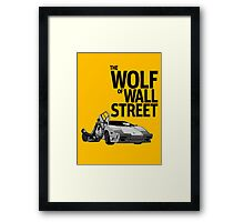 THE WOLF OF WALL STREET-LAMBORGHINI COUNTACH Framed Print