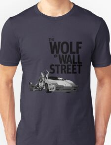 THE WOLF OF WALL STREET-LAMBORGHINI COUNTACH T-Shirt