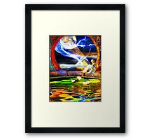 Earth-Fall Framed Print
