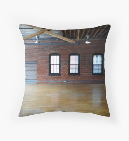 Empty Space Throw Pillow