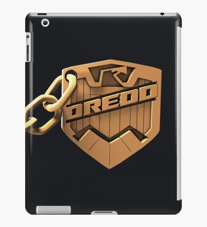 Judge Dredd Badge iPad Case/Skin