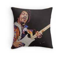 Jimmy Hendrix  Throw Pillow