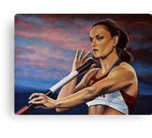 Yelena Isinbayeva painting Canvas Print