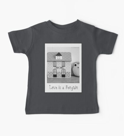 'Love is a Penguin' second sister Baby Tee