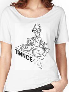 Trance Mix DJ Women's Relaxed Fit T-Shirt