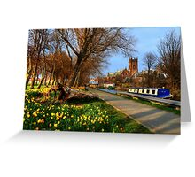 Union Canal Greeting Card