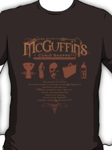 McGuffin's Curio Shoppe - (for Dark Shirts) T-Shirt