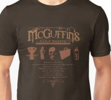 McGuffin's Curio Shoppe - (for Dark Shirts) Unisex T-Shirt