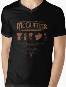 McGuffin's Curio Shoppe - (for Dark Shirts) Mens V-Neck T-Shirt