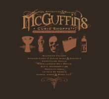 McGuffin's Curio Shoppe - (for Dark Shirts) Unisex T-Shirt