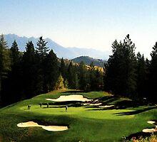 Trickle Creek Golf Course by NatalieCallwood