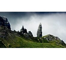 The Old Man of Storr, Isle of Skye, Scotland Photographic Print