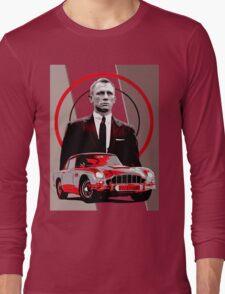 JAMES BOND-ASTON MARTIN Long Sleeve T-Shirt