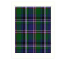 00715 Couper of Gogar Clan/Family Tartan Art Print