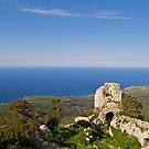 Kantara Castle, Cyprus by Alex Cassels