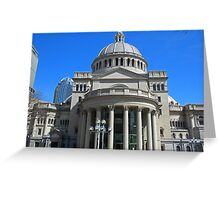 The First Church of Christ, Scientist Greeting Card