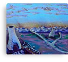 """After the Disasters - """"untitled"""" - prelude to double disasters - *featured Canvas Print"""