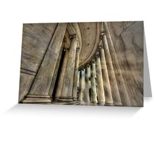Pillars of Strength  Greeting Card