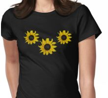 Black Eyed Susan Tee  Womens Fitted T-Shirt