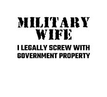 Military Wife Photographic Print