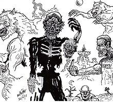 monster Mileau by mattycarpets