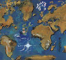 Seven Sea Gods by SoleilSmile