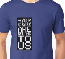 ALL YOUR BASE Unisex T-Shirt