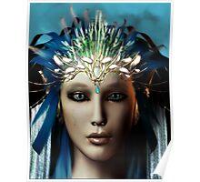 Elvin Queen Portrait Poster