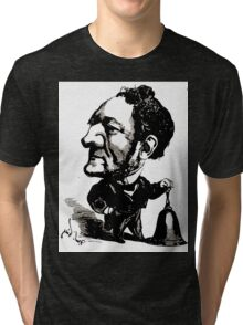 André Gill Louis Buffet by André Gill Tri-blend T-Shirt
