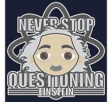 EINSTEIN HEAD Photographic Print