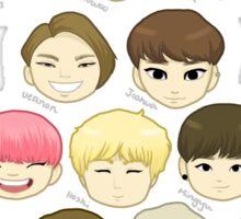 SEVENTEEN Chibi Heads Sticker