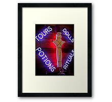 potions + rituals Framed Print