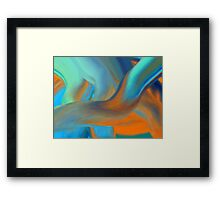 More Colors Framed Print
