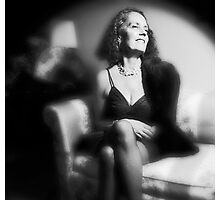 Lynn - Film Noir Style Photographic Print