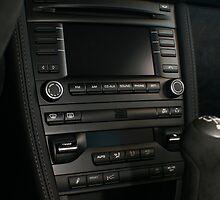 2011 Porsche GT3 Center Console   by Daniel  Oyvetsky