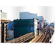 NYC Subway Graffiti-Brooklyn Poster