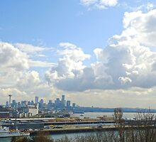 A Sunny Day in Seattle by Danielle Cardenas