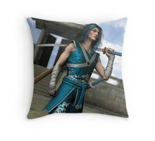 One Door Closes Another One Opens Throw Pillow