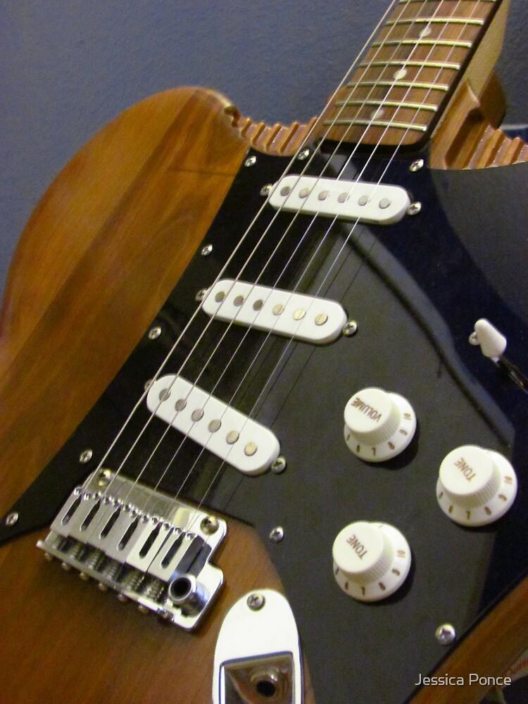 Guitar-Shroom by Jessica Ponce