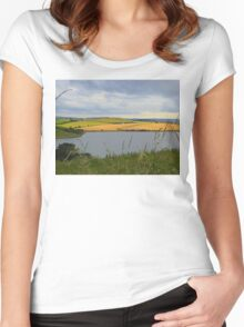 The Land Beyond The Water..................Ireland Women's Fitted Scoop T-Shirt