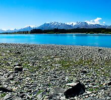 Lake Tekapo Panorama by Courtney McIntyre
