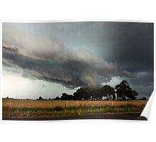 Menacing Cloud Poster