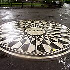 """Imagine"" Mosaic- Strawberry Fields, Central Park, New York by Bev Pascoe"