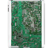 Futuristic circuit board design iPad Case/Skin