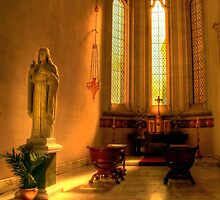 Ethereal Light Inside Sacred Heart Cathedral by Christine Smith