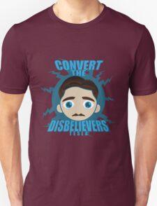 TESLA HEAD Unisex T-Shirt