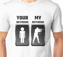 Your Boyfriend My Boyfriend Military Unisex T-Shirt