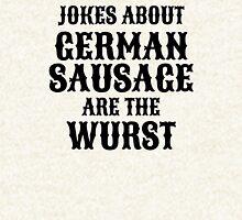 German Sausage Pun Pullover