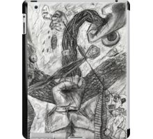 hand battle iPad Case/Skin