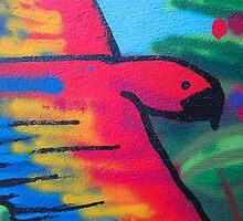 Detail of mural, Westbury-On-Trym, Bristol, UK by buttonpresser